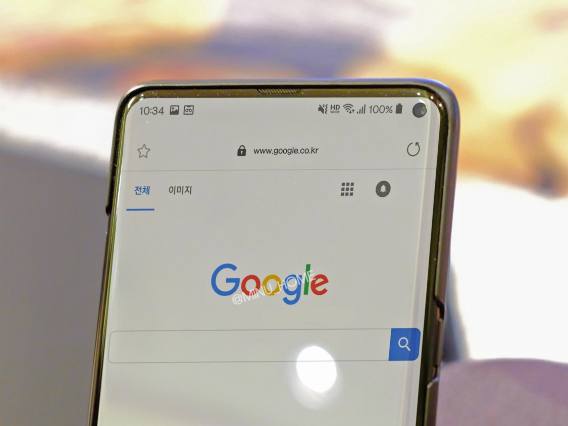 Samsung Galaxy S10 kan ha läckt ut på ny bild