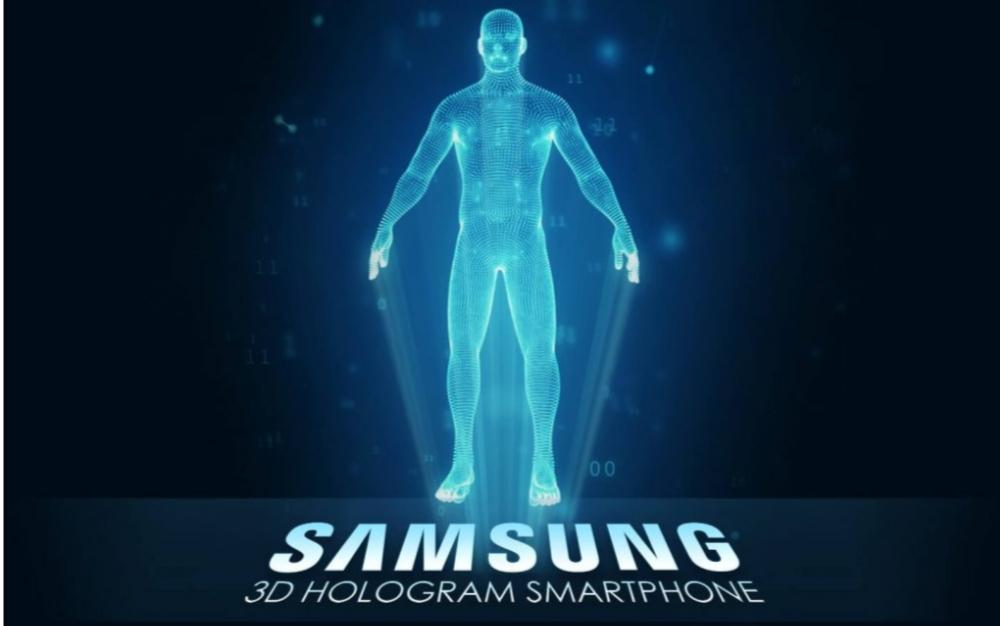 Samsung Galaxy Halogram kan få 3D-skärm