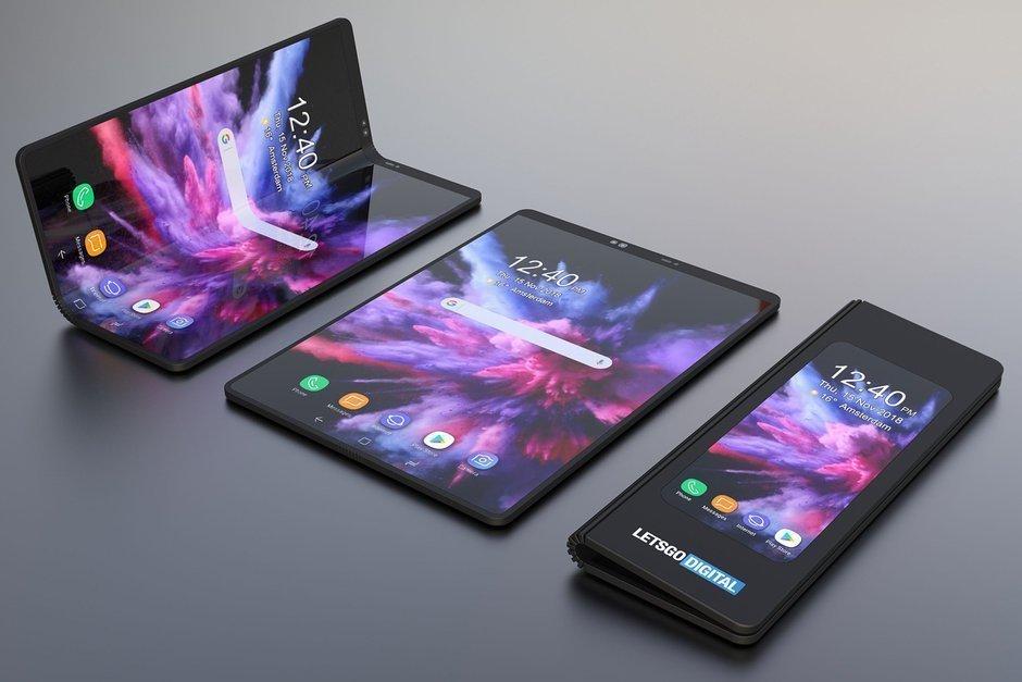Samsung Galaxy F1 kan få display från Corning