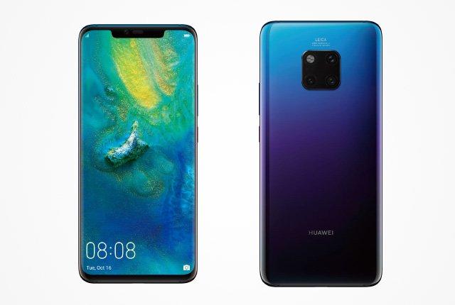 """Huawei Mate 30 Pro sägs få """"mycket mer skärmyta"""""""