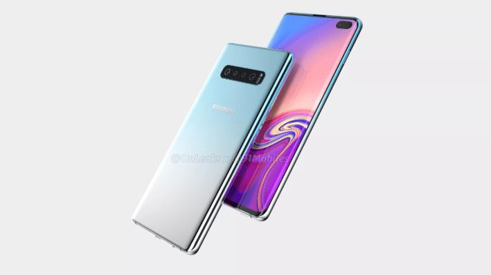 Så här kommer Samsung Galaxy S10 se ut och bli