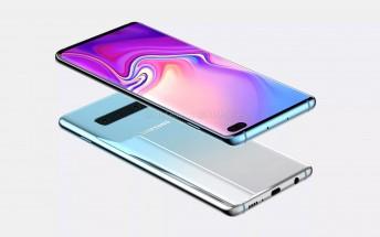 Senaste renderingen av Samsung Galaxy S10+ visar en ny design