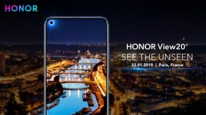 Huawei Honor View 20 di wêneyê de lewaz dibe