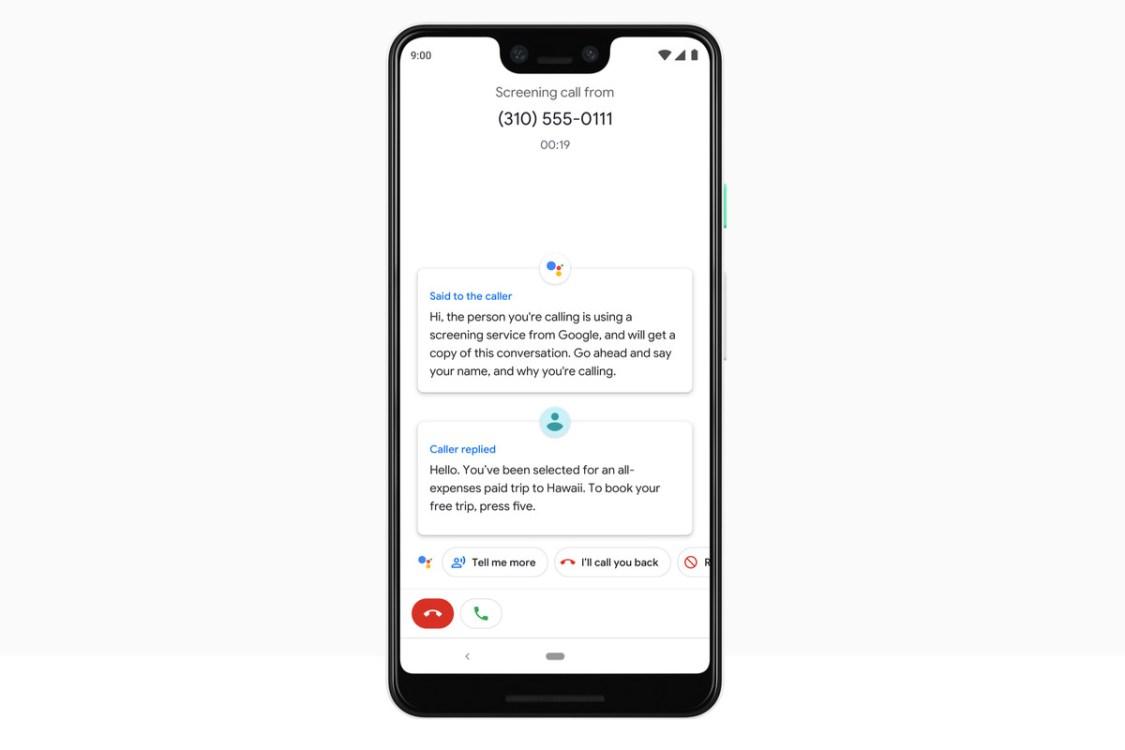 Google Call Screen börjar spara historiken