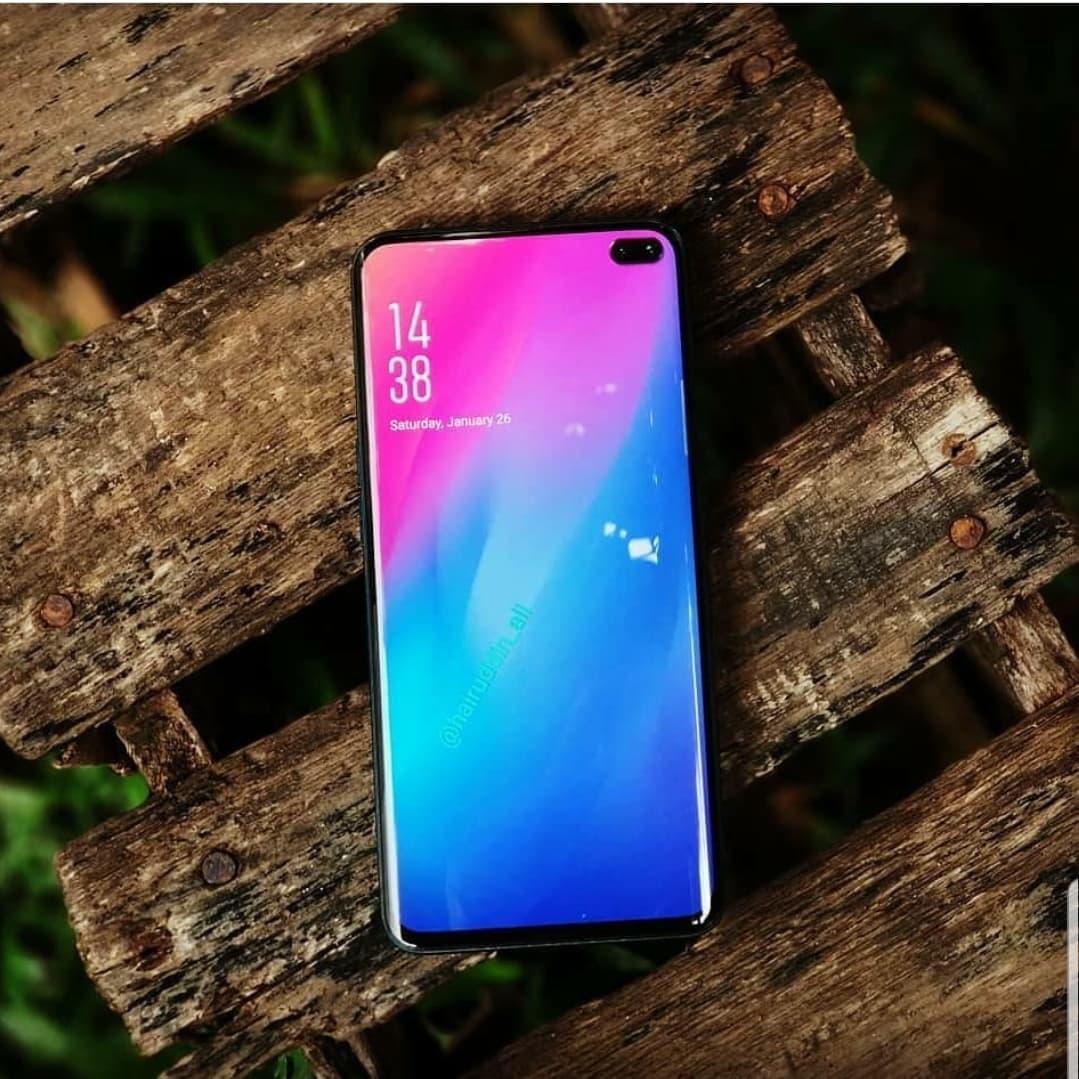 Kan det här vara Samsung Galaxy S10 Pro?