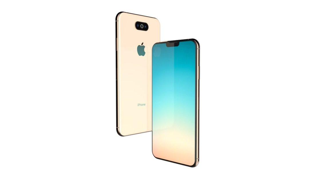 Är det här iPhone XI i guld?