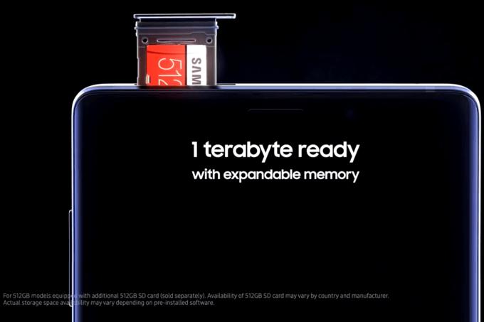 Rykte: Samsung Galaxy S10 får inte 1 TB inbyggt minne