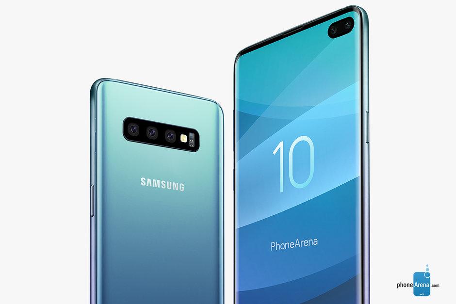 Nya bilder publiceras på Samsung Galaxy S10- serien