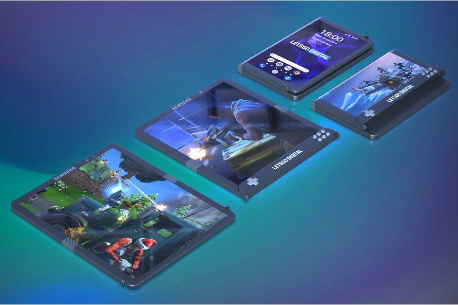 Kan det här vara Samsung Galaxy Gaming?
