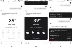 Night Mode seems to have come to Google Assistant