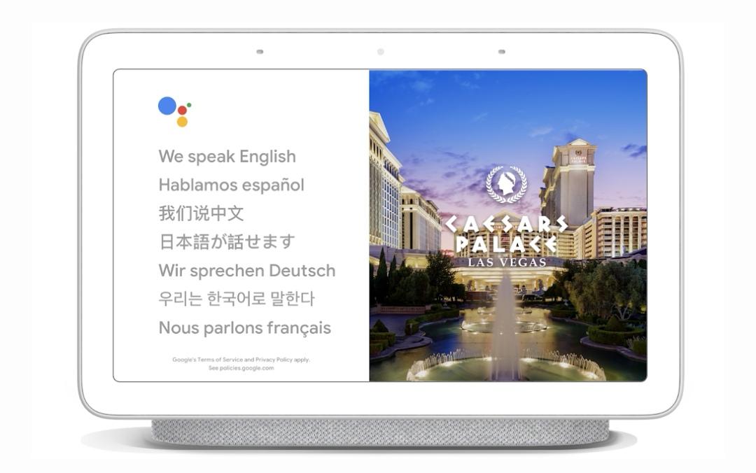 Google Assistent blir till tolk