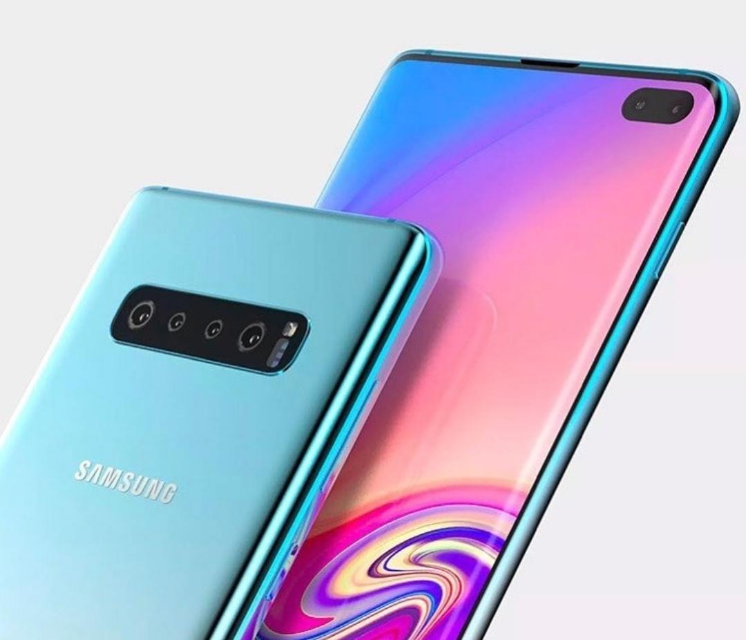 Så här ser Samsung Galaxy S10X troligtvis se ut!