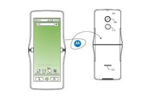 Nya Motorola Razr kan komma att få en böjbar plastfilm