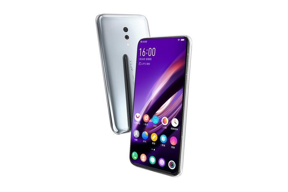 Vivo visar upp fingeravtrycksläsaren i Apex 2019