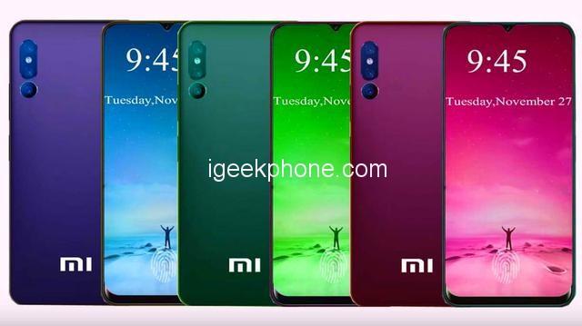 Kommer Xiaomi Mi 9 se ut så här?
