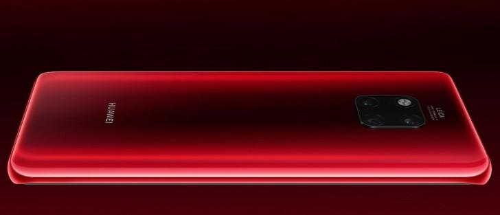 Huawei Mate 20 Pro är ruskigt snygg i rött!