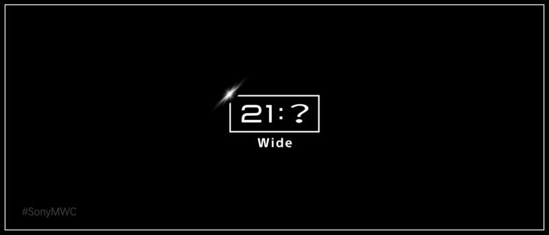 Sony avslöjar att Xperia XZ4 kommer få formatet 21:9