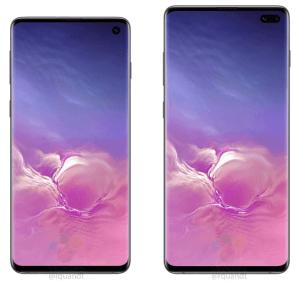 Måtten för Samsung Galaxy S10 – enheterna avslöjade