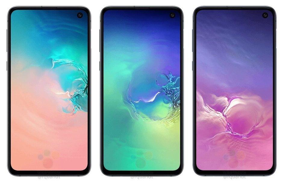 Samsung Galaxy S10e ser ut att  spricka lätt