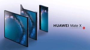 Huawei presenterar Mate X