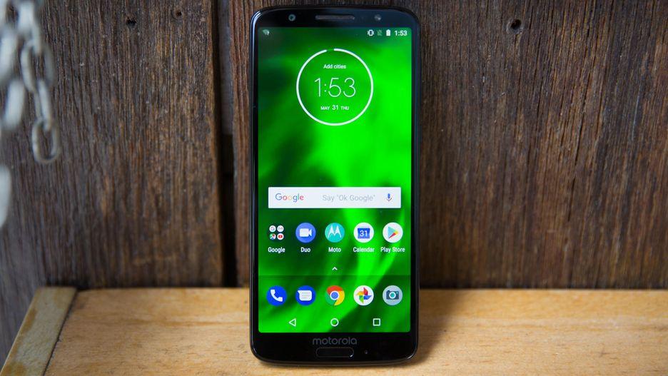 Motorola Moto G6 och G6 Plus erhåller Android 9 Pie