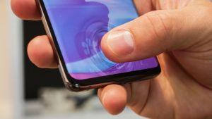 Samsung Galaxy S10: så bra är fingeravtrycksläsaren