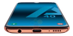 Samsung Galaxy A40 läcker