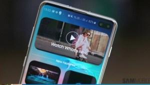 Samsung Galaxy S10 kommer med en intressant app