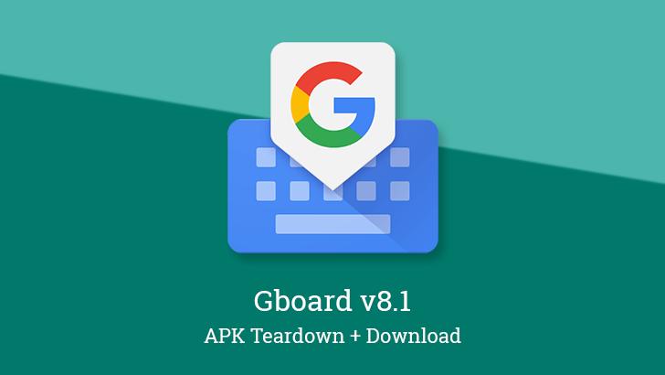 Google Gboard får ny uppdatering