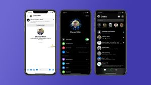 Facebook Messenger Dark Mode endast för iOS