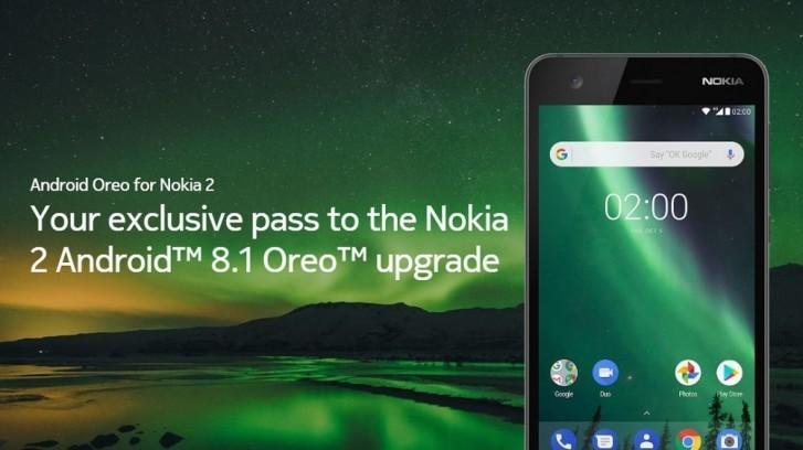 Nokia 2 erhåller Android 8.1 Oreo