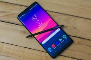 Samsung Galaxy Note 8 får säkerhetsuppdateringen för mars-månad