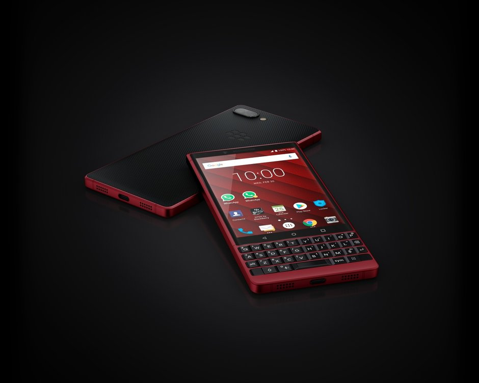 Här är BlackBerry KEY2 RED Edition