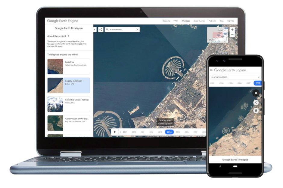 Google Earth får ny funktion på mobilen