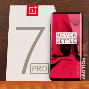 OnePlus 7 Pro kan ha åkt fast på ny bild