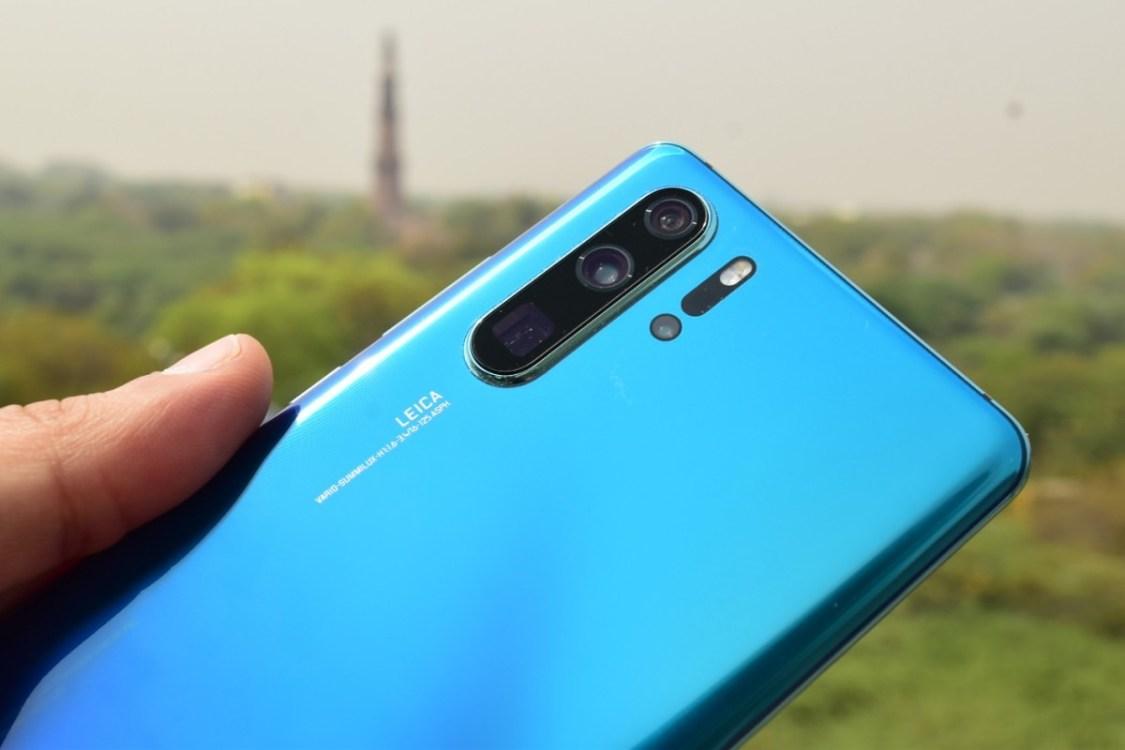 Huawei P30 Pro har fått bakre kameror från Sony
