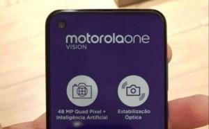 Motorola One Vision åker fast på ny bild