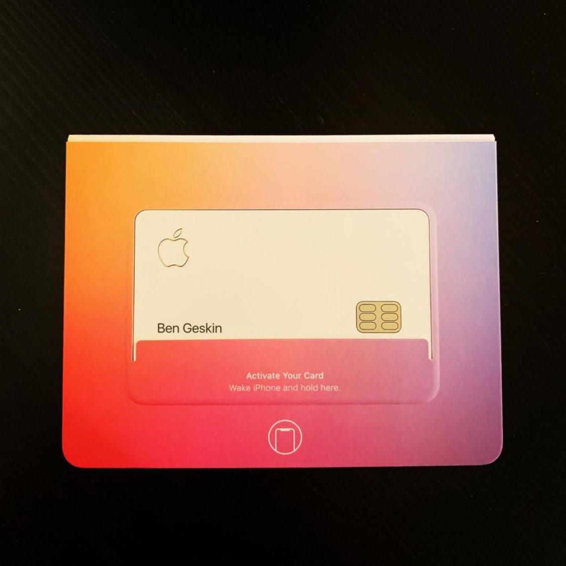 Apple-kortet fastnar på bild