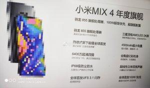 Xiaomi Mi Mix 4 ser ut att få en 120 Hz-display och UFS 3.1