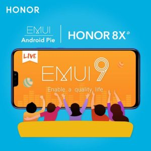 Honor 8X gets Android 9 Pie with EMUI 9.1
