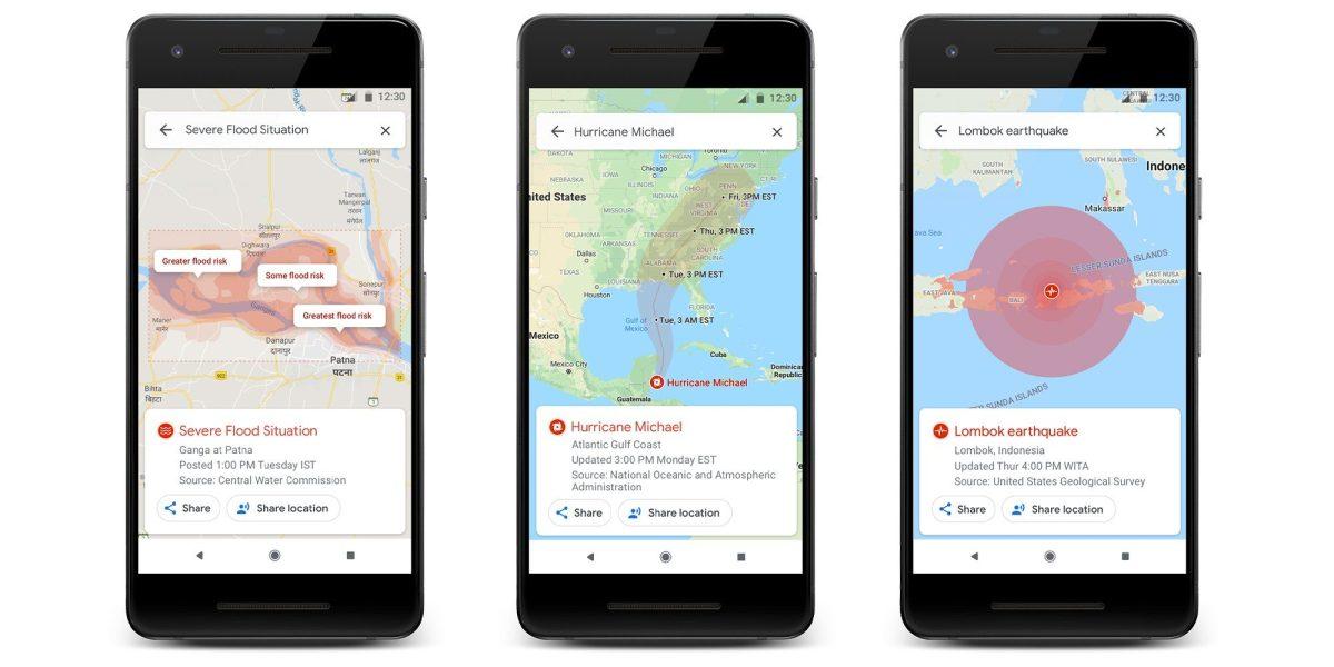 Google Maps får ny funktion – börjar varna detaljerat om naturkatastrofer