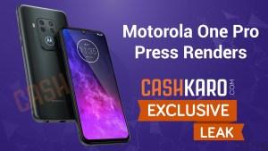 Motorola One Pro läcker – har fyra bakre kameror
