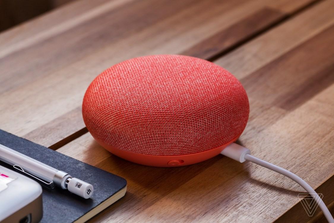 Google Home Mini kommer i ny kulör