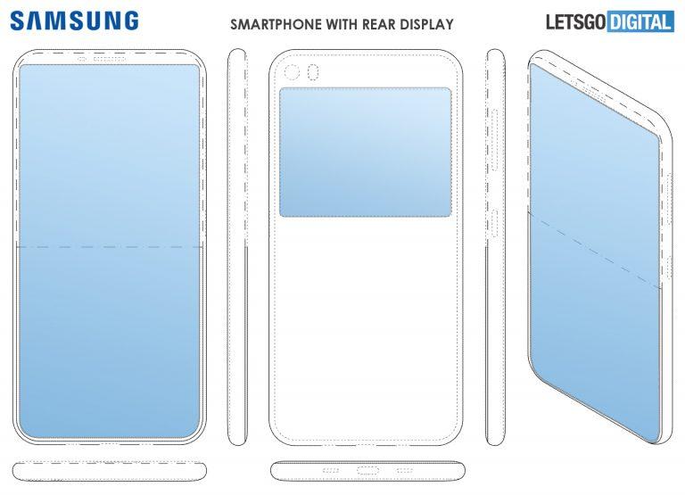 Samsung tar patent på Galaxy med dubbla displayer