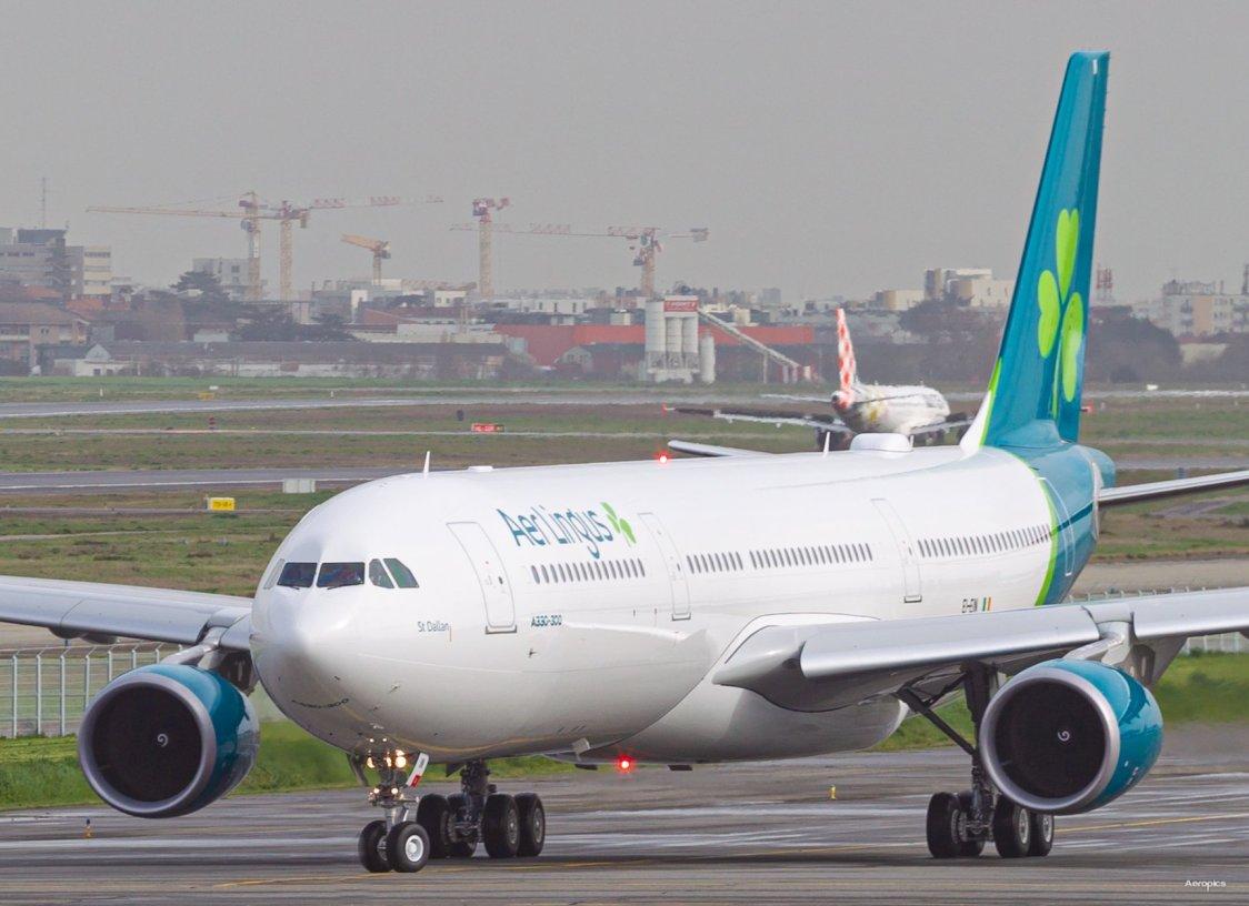 Aer Lingus tar emot världens sista Airbus A330-300