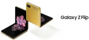 Then the Samsung Galaxy Z Flip comes out in the market in gold