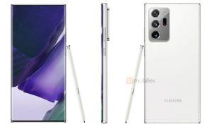 Vita versionen av Samsung Galaxy Note 20 Ultra kan bli begränsad