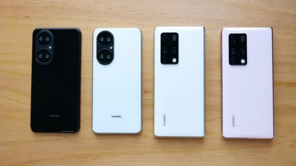 Huawei P50 visas upp tillsammans med vikbara Mate X2
