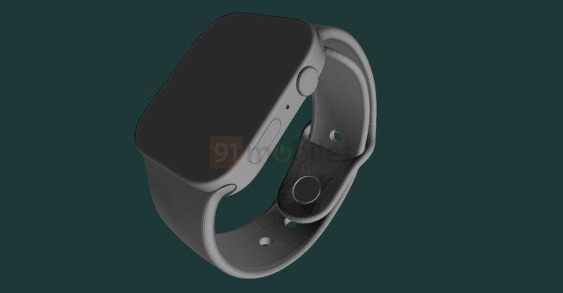 Nova bildigo montras sepan generacion de Apple Watch!