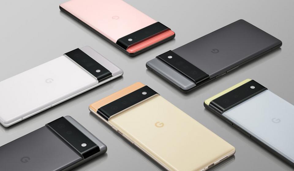 Google Pixel6および6Proは、ボックスに充電器がないように見えます